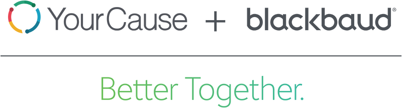 Blackbaud YourCause Better Together