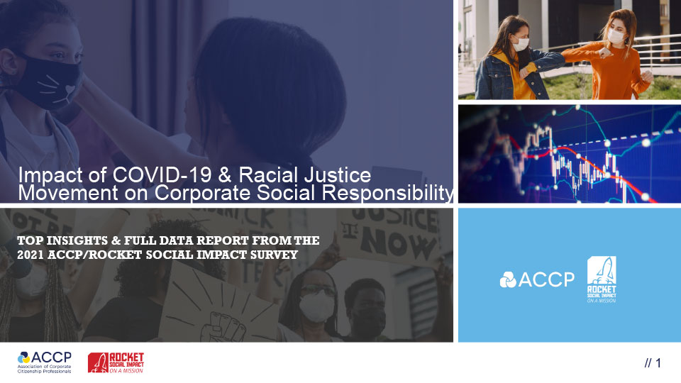 Impact Of Covid 19 And Racial Justice Movement On Csr Cover Thumbnail
